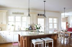 Christmas Home 2015 - Part 2 | Love of Home - one of my favorite kitchens!