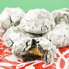 Caramel Chocolate Crinkles Recipe « Go Bold with Butter