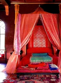 beautiful exotic bedroom