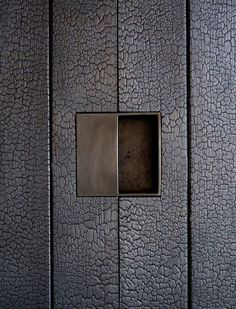 Shou Sugi Ban/'Yakisugi-ita' and concrete - Google Search