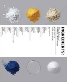 Ingredients: A Visual Exploration of 75 Additives & 25 Food Products by Dwight Eschliman and Steve Ettlinger