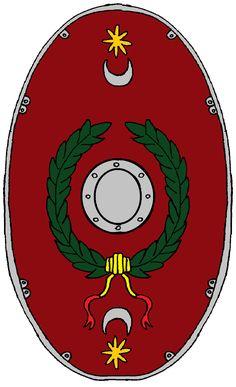 Roman Auxiliary Infantry Shield Cohorts Thracum