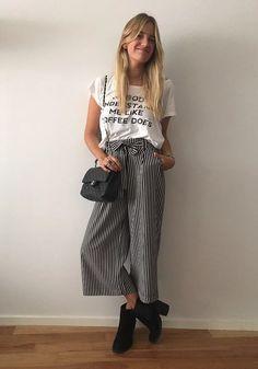 Hola a todos!Bienvenidos una vez más a mi Blog. Hoy voy a comenzar hablándoles un poco sobre los pantalones culotte o también conocidos como pantcourts.Para ap