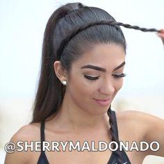 Super easy hairstyle for the gym / Facil Peinado para el gimnasio…