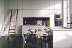 Black and white interiors are impossible to ignore. They're bold, versatile, and perhaps most importantly, they always allow the interesting architectural eleme