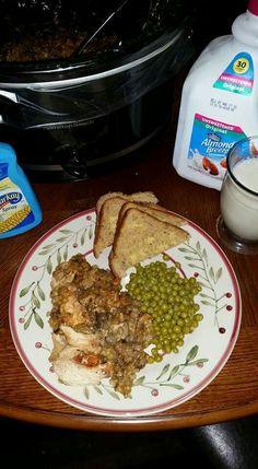 Slow Cooker Mushroom Chicken and Wild Rice Blend - Gluten-Free
