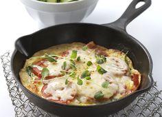 Pizzaomelett italiano