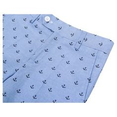 Wd·ny Boys' Anchor Print Shorts - Academy Blue 16