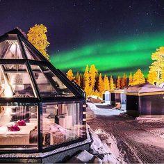Hotel Aurora Chalet, Luosto, Finland