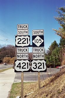 http://upload.wikimedia.org/wikipedia/commons/thumb/1/1a/NC_105_with_Truck_Signs.jpg/220px-NC_105_with_Truck_Signs.jpg