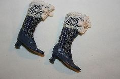 Sylvia Rountree, The Doll's Cobbler, IGMA fellow - ladies Victorian boots