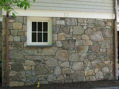 Stone Veneer Exterior, Faux Stone Siding, Stone Exterior Houses, Faux Stone Panels, Exterior Siding, Exterior House Colors, Stone Houses, Diy Exterior, Exterior Design