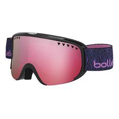 aed9c9e5e7f3  Bolle Goggles 21330 Black Purple Wood Vermillon Gun Scarlet - Walmart.com