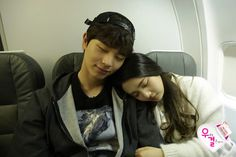 Yook Sungjae and Joy