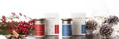 Packaging for two-holiday fragrances