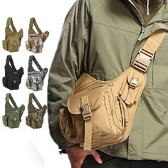 Aliexpress.com : Buy Chest pack outdoor sport single shoulder messenger camera tactical gear USA bag discount sale promotional hot item free shipping from Reliable leather messenger bag men suppliers on Yammy Si's store. $26.99