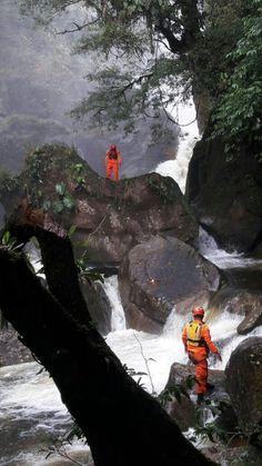 La cascada El Bermejo, en Santa Fé, provincia de Veraguas, Panamá 16/4/2017 José Donderis @donderisja