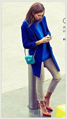 #blue sweater