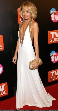 nicole richie circa 2005. still love this white dress.