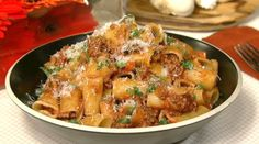 Michael Symon's Rigatoni with Meat Sauce