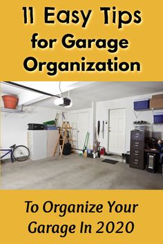 11 Easy Tips For Garage Organization: Organize Your Garage For Good! Declutter Your Home, Organize Your Life, Organizing Your Home, Organizing Toys, Slate Hearth, Garage Organization Tips, Messy House, Neat And Tidy, Floor Space