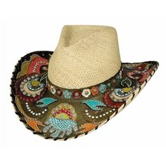 Bullhide Gypsy Queen Natural Genuine Panama Straw Cowgirl Hat - HeadWest Outfitters