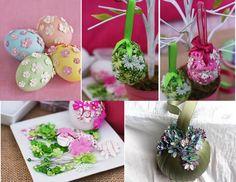Fioriti uova per Pasqua