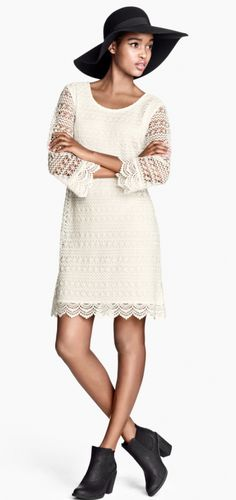 Easter Dresses: Ivory Chic