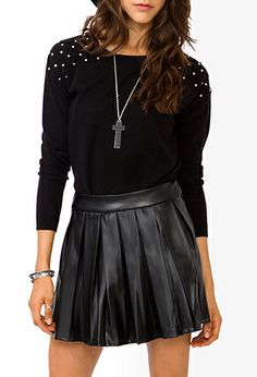 Rhinestoned Pullover Sweater | FOREVER 21 - 2020631661