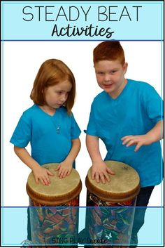 FREE Interactive Music class resource to teach and practice steady beat. Perfect for the elementary music classroom. Lets get kids moving and learning with music! Videos and Sheet music at Sing Play Create Teachers Pay Teachers Store. Music Lessons For Kids, Music Lesson Plans, Drum Lessons, Singing Lessons, Music For Kids, Piano Lessons, Singing Tips, Learn Singing, Music Classes For Kids