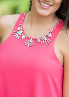 Romancing the Stones  Embellished Top