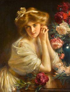 Albert Lynch  (1851-1912)  —    Dolce Far Niente (1893×2495)