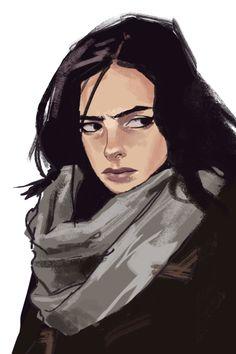 daveseguin: Jessica Jones Sketch | AFA - art for adults