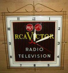 RCA Victor Clock