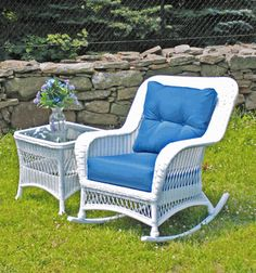 Wicker Paradise carries an outdoor wicker chaise, wicker patio chairs, and an outdoor wicker rocker to complement your backyard style. Shop outdoor wicker chaise now at Wicker Paradise. Wicker Porch Furniture, Outdoor Wicker Furniture, Wicker Table, Wicker Sofa, Outdoor Chairs, Outdoor Decor, Outdoor Living, Cane Furniture, Outdoor Rooms