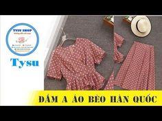 Kebaya Brokat, Tandoori Masala, Western Dresses, Sewing Clothes, Sewing Hacks, Chart, Stitch, Knitting, Youtube