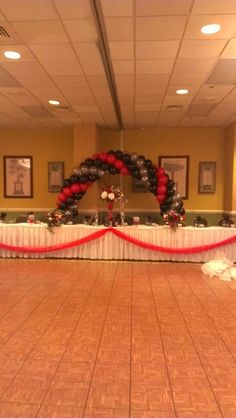 Balloon  Arch we made at a retirement party by eventsbycarlisa
