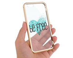 Apple Iphone 6 Gold Case Be Free Birds Heart Aluminum Bumper Cover Skin… Cute Cases, Cute Phone Cases, Iphone 6s Gold, Iphone 5 Cases, Mobile Cases, Swim Wear, Phone Cover, Apple Iphone 6, Cell Phone Accessories