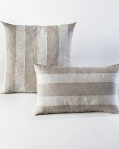 The Belgian Stripes Pillow by HomeMint.com, $34.99