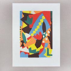 🌴🍋Le tropicalisme rythmique afro-cubain🍋🌴 screenprint, 7 colors 🎨 Edition of 24 👌 Available here 👉 bingostore.tictail.com 😊🎉