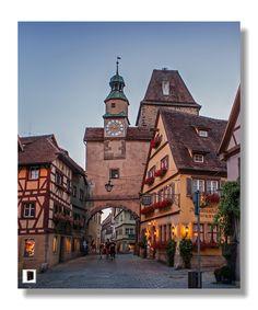 Rothenburg ob der Tauber - Hafengasse