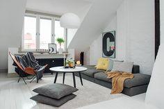 83 m2 cargados de estilo