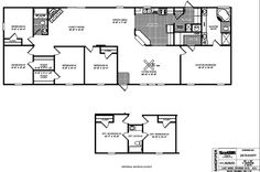 1000 images about future home on pinterest double wide for 5 bedroom double wide floor plans