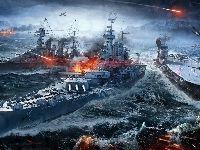 World Of Warships, Okręty