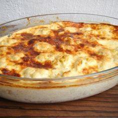 Tepsis csirkemell recept karfiollal