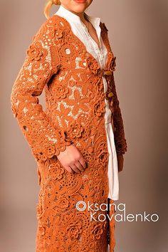 Irish crochet &: Ирландское кружево от Оксаны Савченко