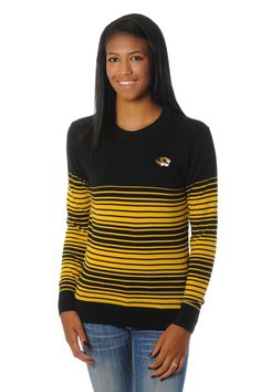 Keep warm this tailgate season in our Missouri Tigers Striped Sweater! This…