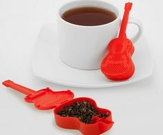 Guitar Tea Infuser! You can buy it on amazon.com