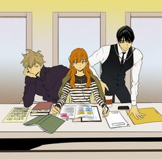Cheese in the trap manga Anime Couples Drawings, Couple Drawings, Art Drawings, Cheese In The Trap Webtoon, Lady Oscar, Webtoon Comics, Manhwa Manga, Anime Art, Character Design
