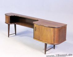 A tiny sideboard from the 1950's, probably Dutch.